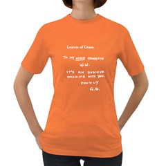 Leaves of Grass Walter White  Women s T-shirt (Colored)