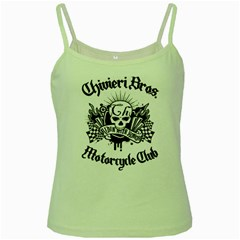 Chivieri Bros. Motorcycle Club Green Spaghetti Tank