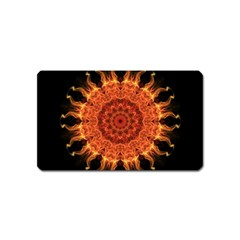 Flaming Sun Magnet (Name Card)