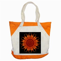Flaming Sun Accent Tote Bag