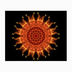Flaming Sun Glasses Cloth (small, Two Sided)