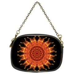 Flaming Sun Chain Purse (One Side)