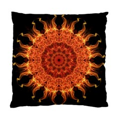 Flaming Sun Cushion Case (Two Sided)
