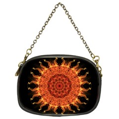 Flaming Sun Chain Purse (Two Sided)