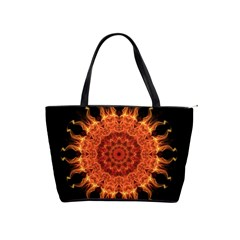Flaming Sun Large Shoulder Bag