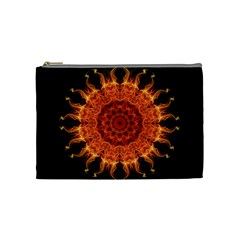 Flaming Sun Cosmetic Bag (Medium)