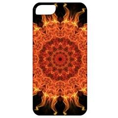 Flaming Sun Apple Iphone 5 Classic Hardshell Case