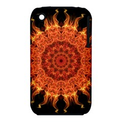 Flaming Sun Apple Iphone 3g/3gs Hardshell Case (pc+silicone)