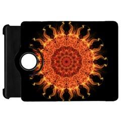 Flaming Sun Kindle Fire HD 7  (1st Gen) Flip 360 Case