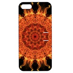 Flaming Sun Apple iPhone 5 Hardshell Case with Stand