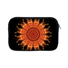 Flaming Sun Apple iPad Mini Zippered Sleeve