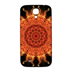 Flaming Sun Samsung Galaxy S4 I9500/I9505  Hardshell Back Case