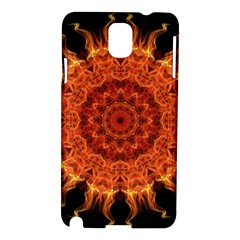 Flaming Sun Samsung Galaxy Note 3 N9005 Hardshell Case