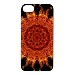 Flaming Sun Apple iPhone 5S Hardshell Case