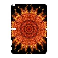 Flaming Sun Samsung Galaxy Note 10.1 (P600) Hardshell Case