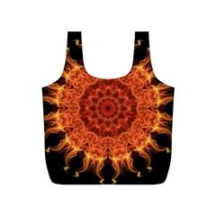 Flaming Sun Reusable Bag (S)