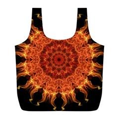 Flaming Sun Reusable Bag (L)