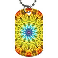 Flower Bouquet Dog Tag (one Sided)