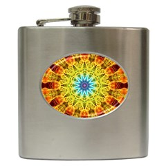 Flower Bouquet Hip Flask