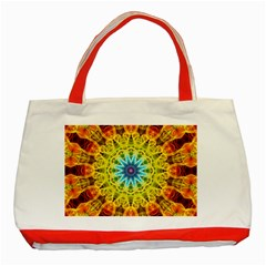 Flower Bouquet Classic Tote Bag (Red)