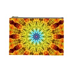 Flower Bouquet Cosmetic Bag (large)