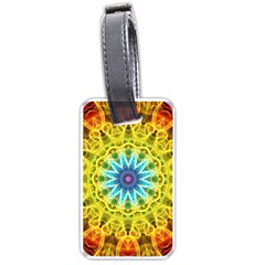 Flower Bouquet Luggage Tag (One Side)