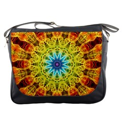Flower Bouquet Messenger Bag