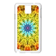 Flower Bouquet Samsung Galaxy Note 3 N9005 Case (White)