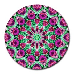Flower Garden 8  Mouse Pad (Round)