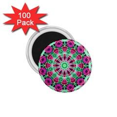 Flower Garden 1.75  Button Magnet (100 pack)