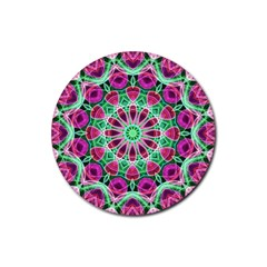 Flower Garden Drink Coaster (round)