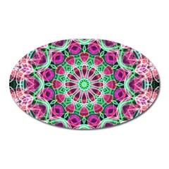 Flower Garden Magnet (oval)