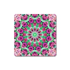 Flower Garden Magnet (Square)