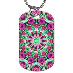 Flower Garden Dog Tag (Two-sided)