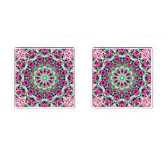 Flower Garden Cufflinks (Square)