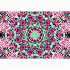 Flower Garden Canvas 20  X 30  (unframed)