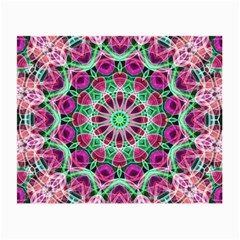 Flower Garden Glasses Cloth (Small, Two Sided)
