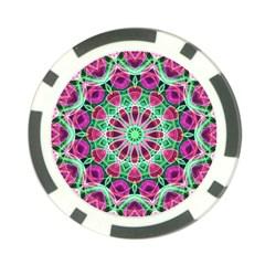 Flower Garden Poker Chip