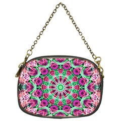 Flower Garden Chain Purse (one Side)