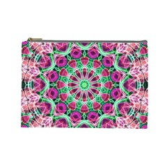 Flower Garden Cosmetic Bag (Large)