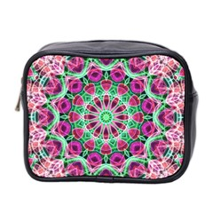 Flower Garden Mini Travel Toiletry Bag (Two Sides)