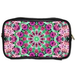 Flower Garden Travel Toiletry Bag (one Side)