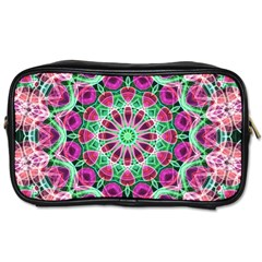 Flower Garden Travel Toiletry Bag (Two Sides)
