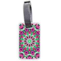 Flower Garden Luggage Tag (one Side)