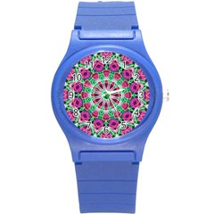 Flower Garden Plastic Sport Watch (Small)