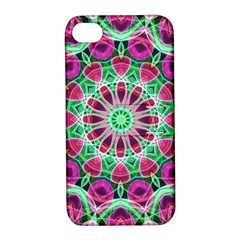 Flower Garden Apple iPhone 4/4S Hardshell Case with Stand