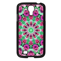 Flower Garden Samsung Galaxy S4 I9500/ I9505 Case (Black)