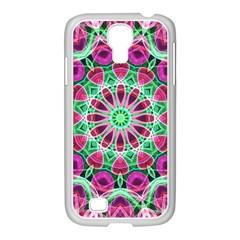 Flower Garden Samsung GALAXY S4 I9500/ I9505 Case (White)