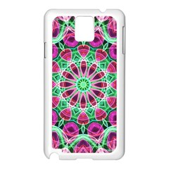 Flower Garden Samsung Galaxy Note 3 N9005 Case (white)