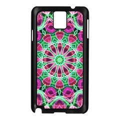 Flower Garden Samsung Galaxy Note 3 N9005 Case (Black)